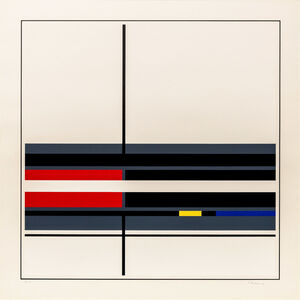 Jean Gorin, 'Untitled Geometric Composition', 1976