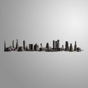 Constantin Boym, 'Missing Monument prototypes, collection of twenty', 1997-99