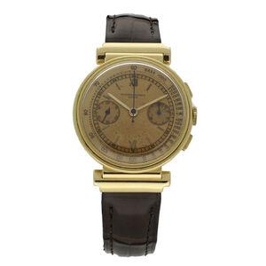 Vacheron & Constantin, '18ct yellow gold chronograph wristwatch.', ca. 1938