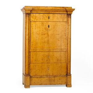 Beidermeier, 'Biedermeier Maple Cabinet', ca. 1830