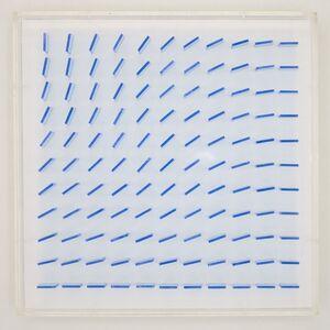 Hartmut Böhm, 'quadratrelief 28', 1968