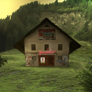 Helmut Grill, 'special needs hut', 2007