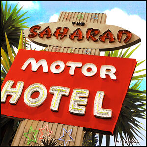 Michael Giliberti, 'Saharan Motor Hotel LA', 2020