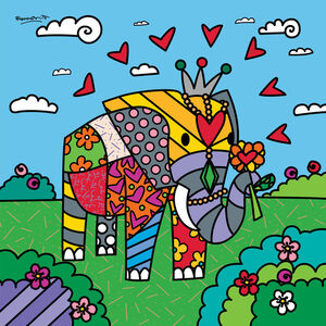 Romero Britto, ' India (Ed No.055)', 2020