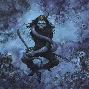 Arik Roper, 'Assassin, interior album art for High on Fire's Snakes for the Divine.', 2010