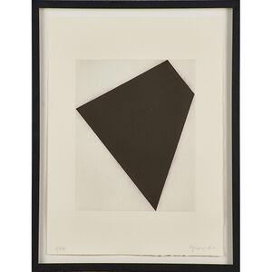 Robert Moskowitz, 'Untitled (black on white)'