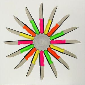 ŞEVKET ARIK, 'Love Knives', 2017