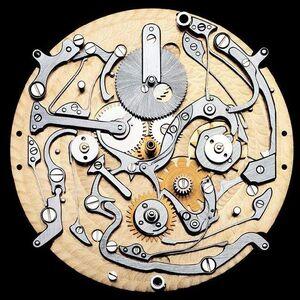 Guido Mocafico, 'Gerald Genta Arena, Perpetual Calendar GMT', 2006