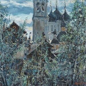 Sergei Chepik, 'St Sophie in Vologda', 1977