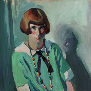 Jane Peterson, 'The Green Dress', Add Artwork year
