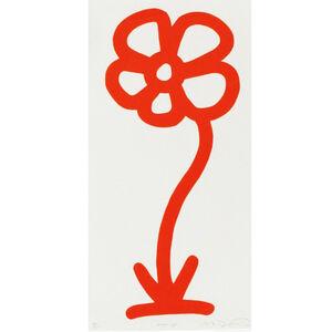 Michael De Feo, 'Orange, 15 Anniversary Flower Print Series (Rainbow/Roy G. Biv Series)', 2007