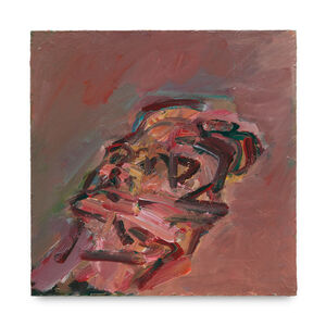Frank Auerbach, 'Reclining Head of Julia', 2007-2008
