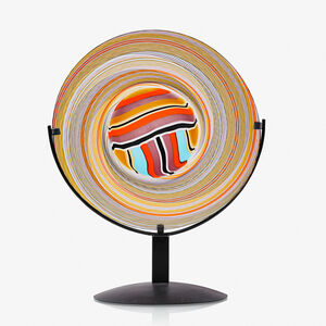 Afro Celotto, 'Untitled disc on stand, Murano, Italy'