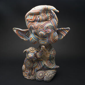 Michael Lucero, 'Elf with Puppy', 2004