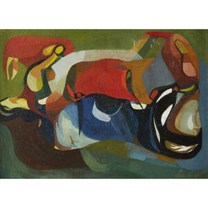 Leon Kelly, 'Abstraction', 1935