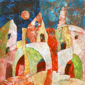 Harry Guttman, 'Full Moon Village', 2011