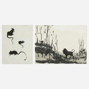 Verne Dawson, 'Untitled (two works)', 2003