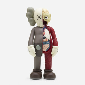 KAWS, 'Companion – Dissected Brown Colorway', 2006