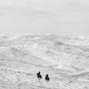 Matt Black, 'Riders. South Dakota, Ziebach County. USA. ', 2016