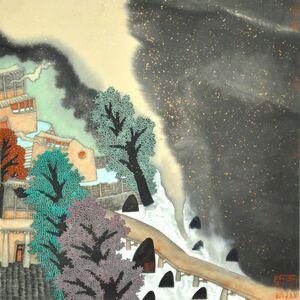 Guo Huawei, 'Dreamlike Clouds', 2012
