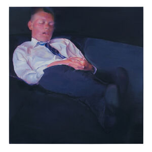 Johannes Kahrs, 'Man Sleep', 2019