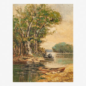 Levi Wells Prentice, 'Untitled (River Scene)'