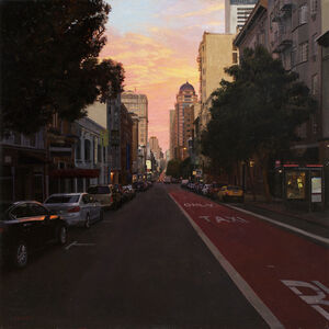 Greg Gandy, 'Sunset over Union Square', 2015-2016
