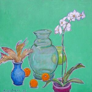 Joseph Plaskett, 'Still Life with White Orchid 1', 2005