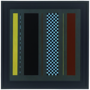 Andrew Christofides, 'Untitled grey painting number 7', 1990
