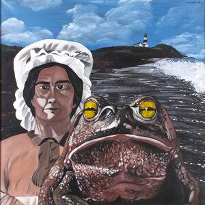 Antonio Saliola, 'The lighthouse keeper's lover', 1970