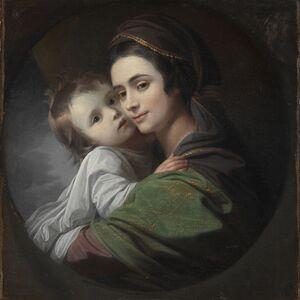 Benjamin West, 'Elizabeth Shewell West and Her Son, Raphael', c. 1770