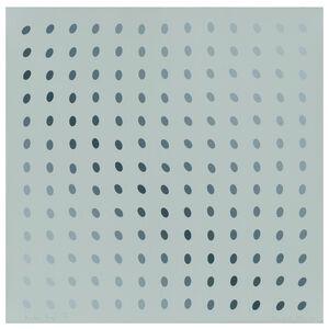 Bridget Riley, 'One Plate (B), from: Nineteen Greys', 1968