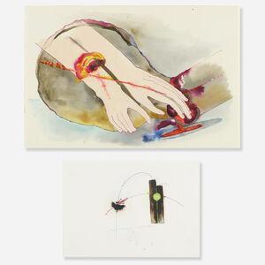 Katy Schimert, 'Untitled (two works)'