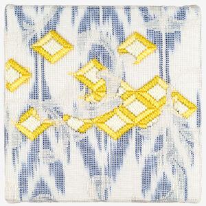 Cecilia Charlton, 'Triple-layer Gather-gusset (Yellow Diamonds) ', 2019