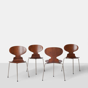 Arne Jacobsen, '  Set of Four Ant Chairs #3100 by Arne Jacobsen', ca. 1952