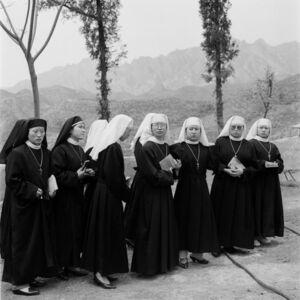 Liu Zheng, 'Nuns, Beijing', 1996