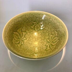 Shin Sang Ho, 'Korean Porcelain Bowl with celadon glazing ', 1990 Aprox.