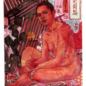Maryam Gohar, 'Red Cape', 2020