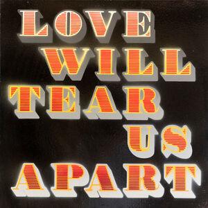 Ben Eine, 'Love Will Tear Us Apart (Red) (Black Gloss)', 2018