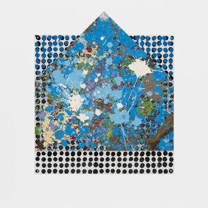 Jennifer Losch Bartlett, '(Glass House on Plate)', 1999-2000