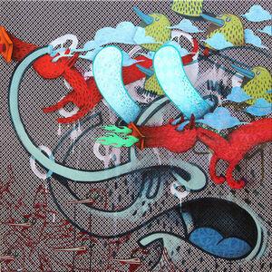 Alëxone Dizac, 'CINQ DIXIEMES A CHAQUE OEIL', 2014