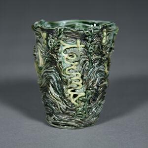 Stephanie Lanter, 'Terms Cup (gray/cream)', 2020
