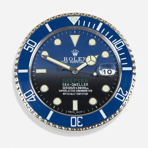 Rolex, 'Sea-Dweller Deepsea dealer clock', c. 2000