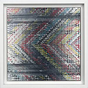 Nina Tichava, 'Chevron Study, Black and White ', 2019