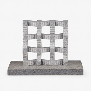 Jesús Bautista Moroles, 'Granite Weaving', 1998