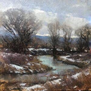 Michael J. Lynch, 'Platte River Overcast', 2019