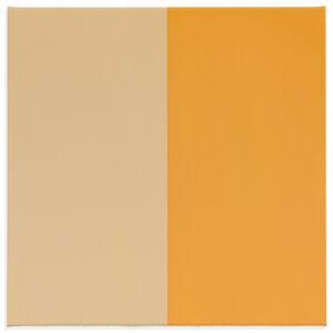 Steven Aalders, 'Two Halves (Beige, Yellow)', 2018