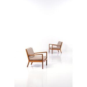 Edvard Kindt-Larsen, 'Pair of armchairs', 1931