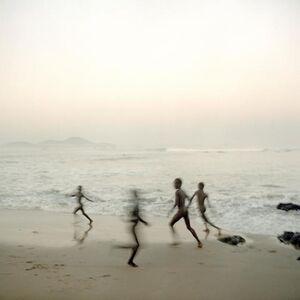 Denis Dailleux, 'Emfants sur la plage d'Apam, Ghana', 2012