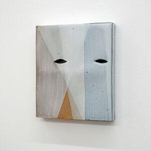 Mamiko Otsubo, 'Untitled (Eyes on Panel Black)', 2013